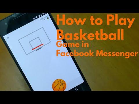 Ahora se puede jugar al básquet desde Messenger