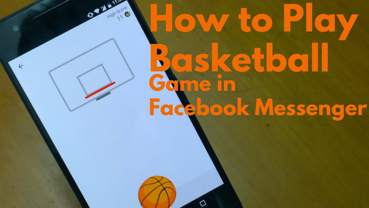 How to Play Basketball Hoops Game in Facebook Messenger? - YouTube