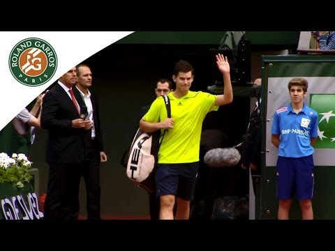 Thiem's feeling on playing Nadal at 2014 French Open