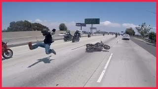 Motorcycle Accident Crash During Wheelie on the Highway Crash …