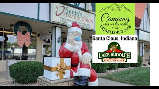 Lake Rudolph Campground aฑd RV Resort in Santa Claus, Indiana review