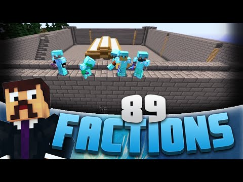 Minecraft Factions #89 - Attacking My Enemies Castle! (Minecraft Raiding)