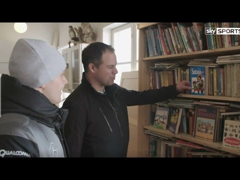 Ted at Home with Bottas – Part One