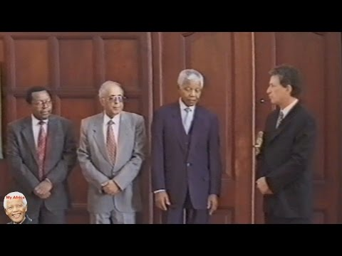 MUST WATCH Nelson Mandela And Ahmed Kathrada Together. Classic Footage