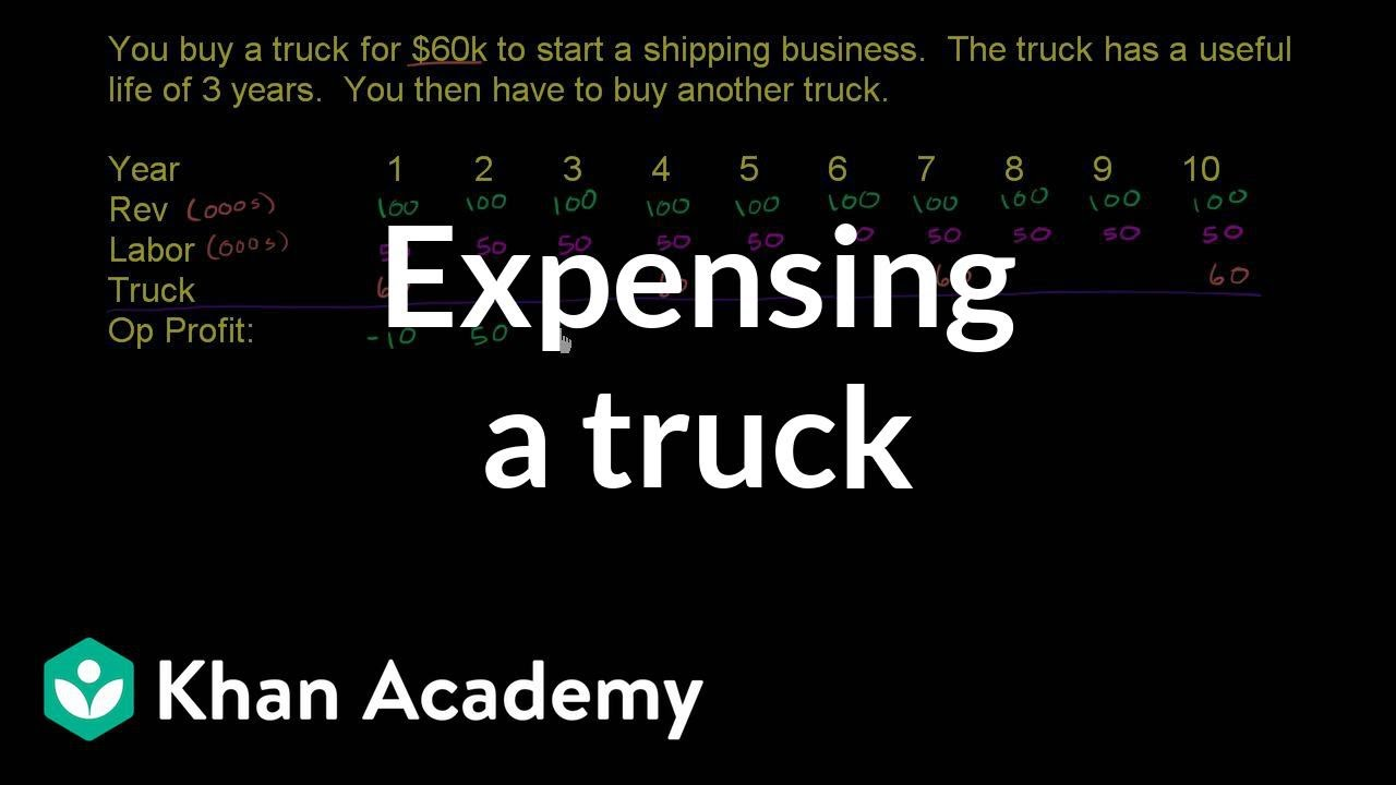 Expensing a truck leads to inconsistent performance (video
