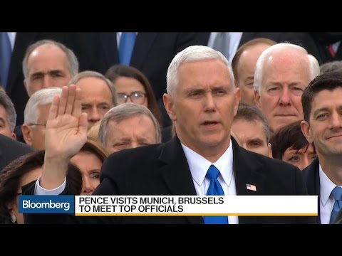 Pence Goes to Europe to Assure That U.S. Is Reliable Ally