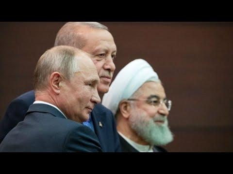 أردوغان وبوتين وروحاني يعلنون الاتفاق على تشكيلة اللجنة الدستورية الخاصة بسوريا  - نشر قبل 2 ساعة