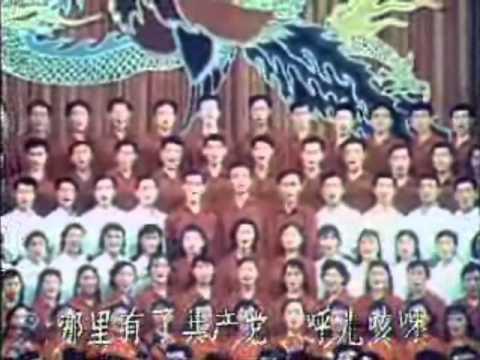 《红花朵朵开》东方红 Red Flowers Bloom: The East is Red 1960