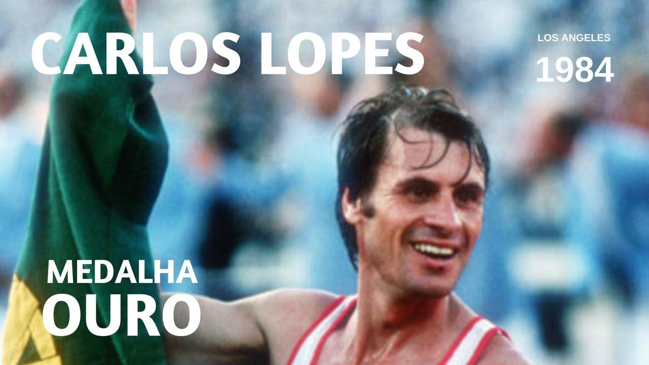 Carlos Lopes - Medalha de Ouro (Jogos Olímpicos Los Angeles, 1984)