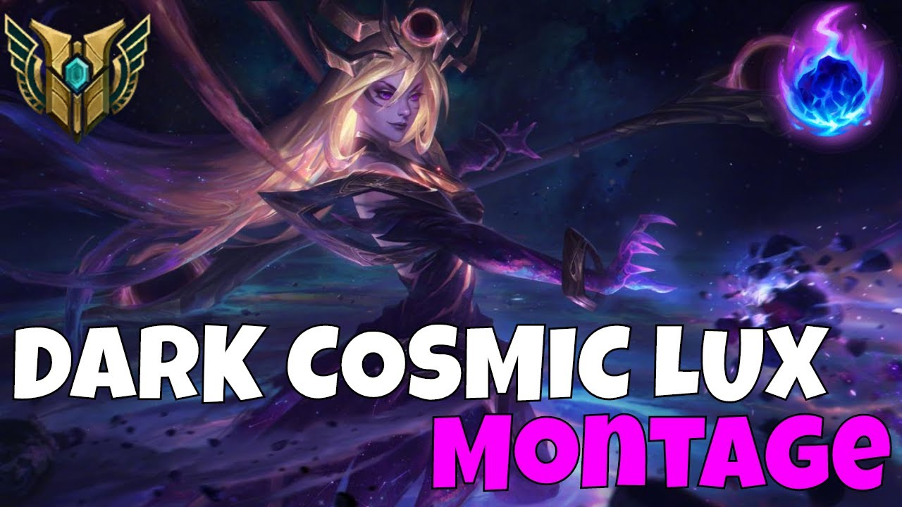 DARK COSMIC LUX MID NEW SKIN FULL AP DIAMOND CARRY THE GAME WITH DARK HARVEST | League of Legends
