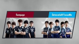 LJL 2017 Spring Split Round1 Match1 Game2 RPG vs DFM