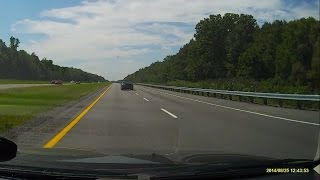 Dashcam View of Autoroute 20 from Quebec to Ontario, Canada