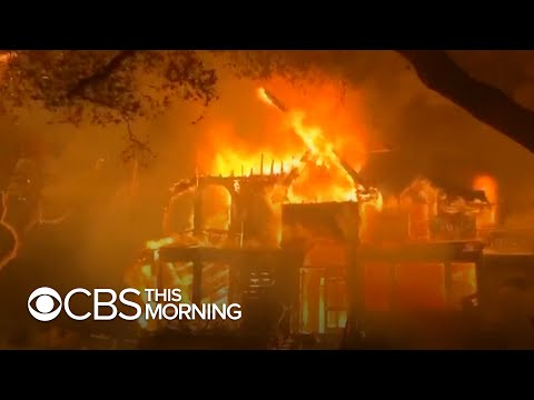 California wildfires kill three people, force thousands to evacuate