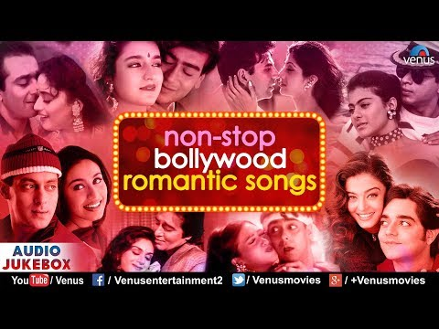 Non Stop Bollywood Romantic Songs  Best Evergreen Hindi Songs  JUKEBOX  90s Bollywood Love Songs