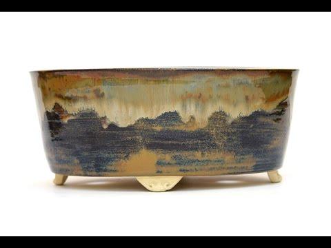 Produção de Vaso Oval para Bonsai por Sergio Onodera