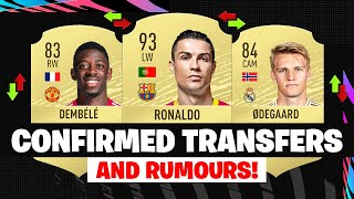 FIFA 21 | NEW CONFIRMED TRANSFERS & RUMOURS! 😱🔥| FT. RONALDO, DEMBELE, ODEGAARD... etc