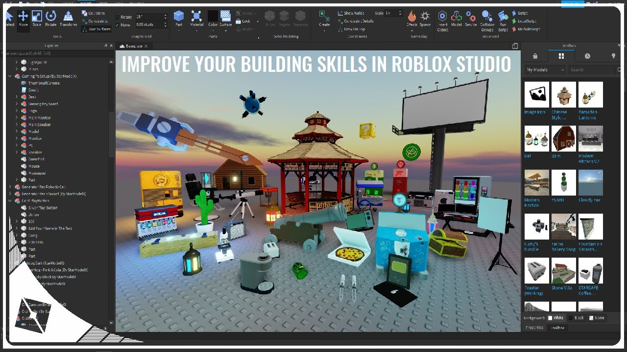 ROBLOX Tutorial For Beginners How To Use ROBLOX Studio