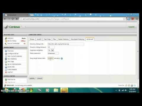 How To List Your Radio Station On The Icecast Directory - YouTube