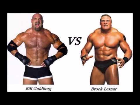 Goldberg vs Brock Lesnar  2016
