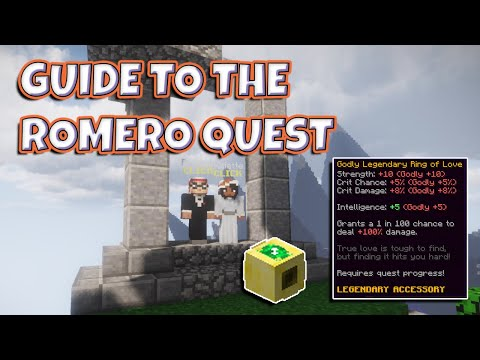 Guide To The New Romero Quest Hypixel Skyblock Youtube