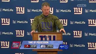 Pat Shurmur: It Was A Team Win   New York Giants Post Game