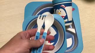 Мой отзыв. Классная детская посуда. Happy kids - бамбуковая посуда для детей.