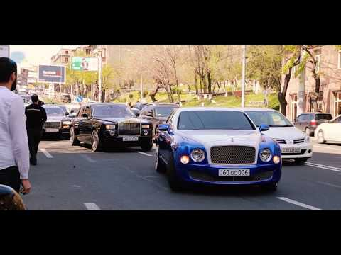 Свадебный кортеж - Армения