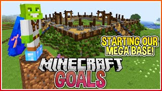 Mega Base Construction! | Minecraft Goals Ep.5