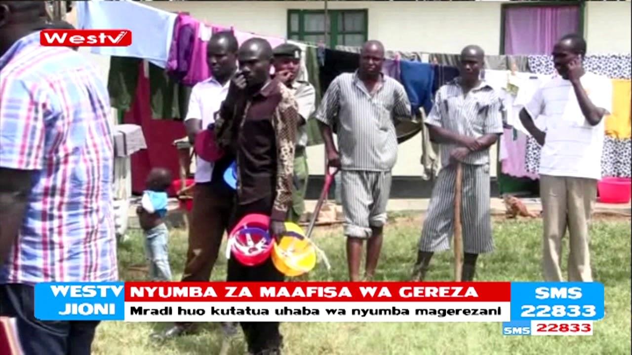 Nyumba za maafisa wa gereza kujengwa Kakamega