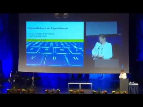 Digital Media(IT) In Psychology And Psychotherapy (German Language) - Prof.Dr. Christine Knaevelsrud