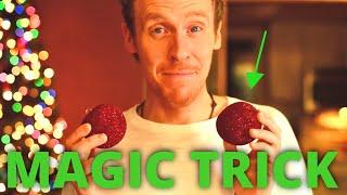 AWESOME!!! CHRISTMAS MAGIC TRICK | Magician Vs The Magic of Christmas