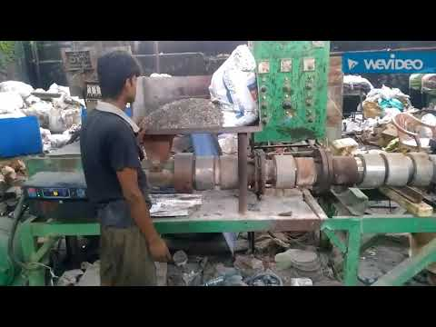 Waste Plastic (Polythene bag) Recycling Plant In Nagpur