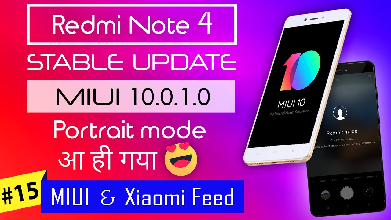 Revolution OS MIUI 10 For Redmi Note 4/4X And Other Xiaomi