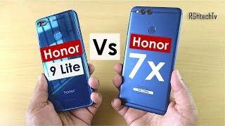 Honor 7x vs Honor 9 lite | Gaming, Camera, Battery, Sound, Design & Build