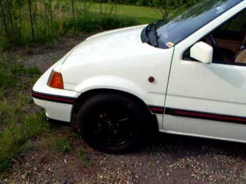 1987 Honda Civic Wagon Rt Awd Youtube