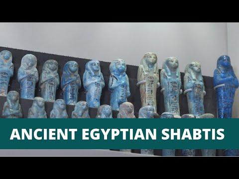 Ancient Egyptian Shabtis