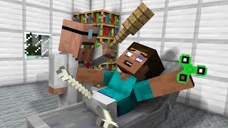 Monster School : Surgery - Steve Operation (Minecraft Animation)