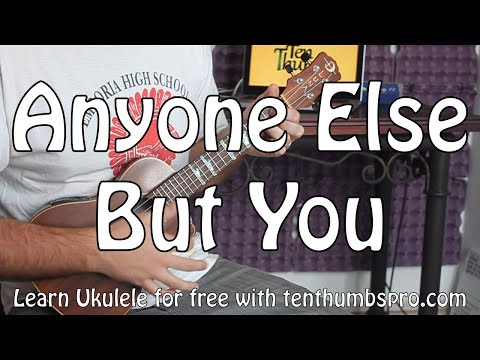 Moldy Peaches - Anyone Else But You - Easy Beginner Ukulele Tutorial - Juno OST - Easy First Song