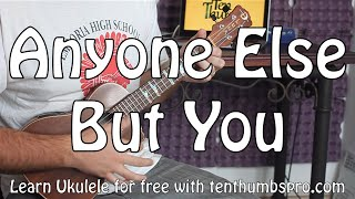 Moldy Peaches Anyone Else But You Easy Beginner Ukulele Tutorial Juno Ost Easy First Song