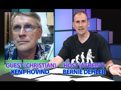Kent Hovind's opinion of Eric Hovind's argument (atheist/Christian dialogue excerpt)