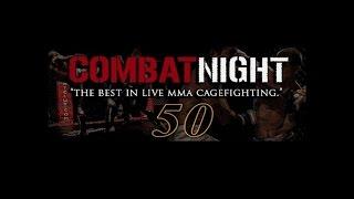 Combat Night 50 - Jay Edwards vs Timothy Lopez