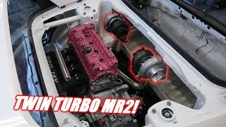 The Mr2 Is Going TWIN TURBO! Can Two Ebay Turbos Make 1000hp?
