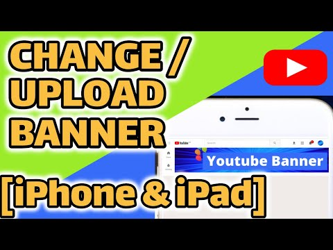 Upload A YouTube Banner On IPhone | Incl. Error Message Fixes | 2020