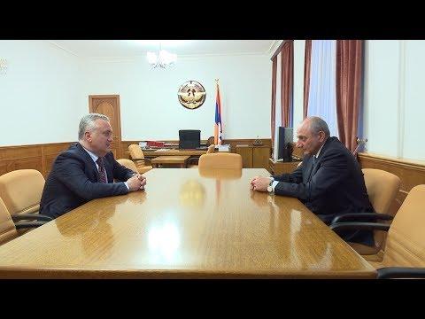 Նախագահն ընդունել է Արթուր Ջավադյանին Президент принял Артура Джавадяна