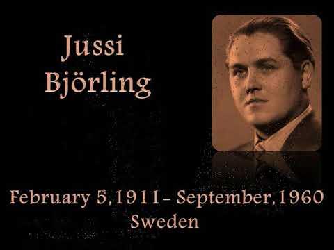 Immortal Music~Jussi Björling~Rimsky Korsakov