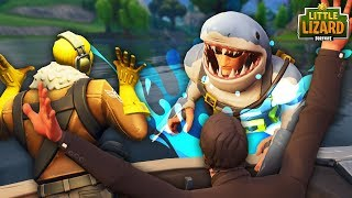 SHARK ATTACKS RAPTOR IN FORTNITE! * SEASON 5 *Fortnite Short Film