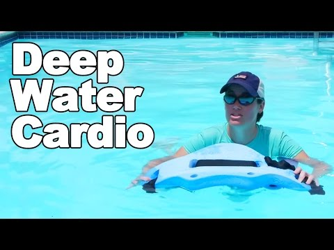 Water Cardio Workout in Deep Water - Ask Doctor Jo
