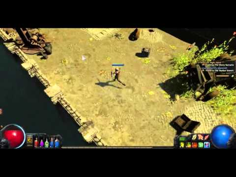 plays4all Playing Path of Exile for the hard nerd cafe youtube channel