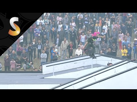 Kevin Vu - 3rd Final Skate Pro - FISE World Chengdu-China 2014