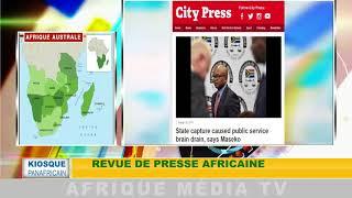 Revue de presse africaine : KIOSQUE PANAFRICAIN DU 31 08 2018